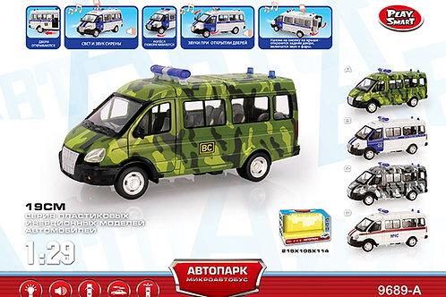 Купить игрушку машина инерц. микроавтобус со светом и музыкой