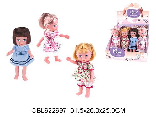 Купить игрушку кукла 12 шт/коробка акция скидка 55%