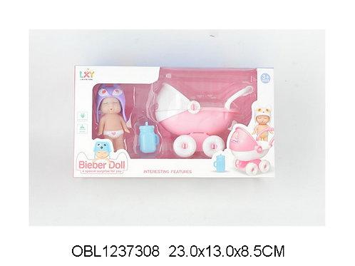Купить игрушку кукла пупс с коляской