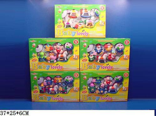 Игрушка детская:Карусель на кровать 5 видов С3780