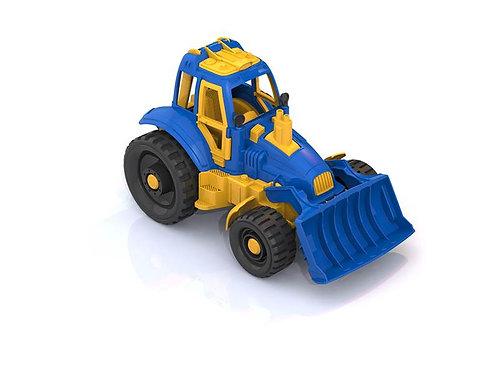 Купить игрушку НордПласт: Трактор с грейдером