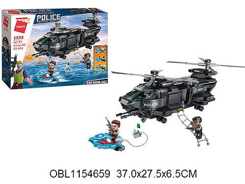 Купить игрушку конструктор брик полиция 437 дет.