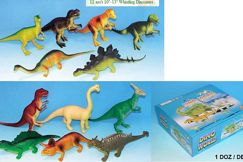 Игрушка детская:Динозавры в д/б 6 видов цена за блок(12 шт)