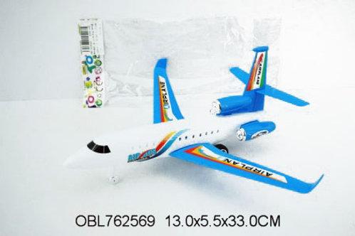 Купить игрушку самолет инерц. 2 цвета