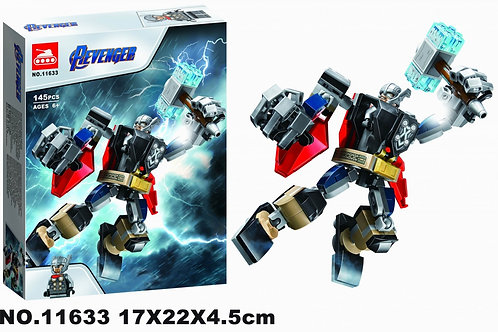 """Конструктор 11633 Super Heroes """"Тор робот"""" 145 дет. в кор. 17х22х4.5см"""