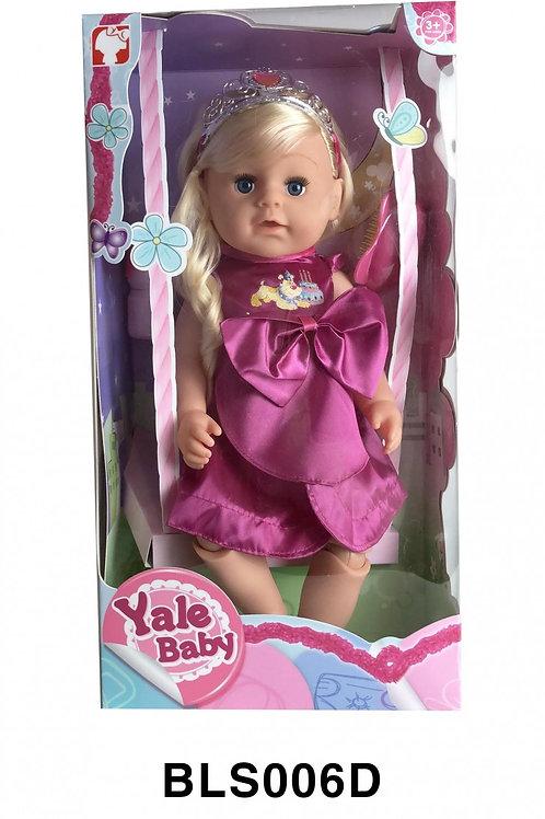 """Кукла Yale Беби """"Сестричка"""" 43 см озвучена с аксессуарами."""