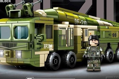 "Конструктор Sembo Block ""Ракетная установка DF-21D""  406 дет. в кор. 37.8х6.6х26"