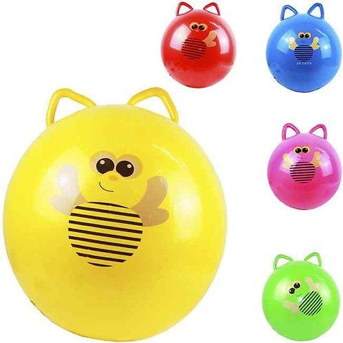 Купить игрушку мяч пластизоль с ушами 55 см 3 цвета