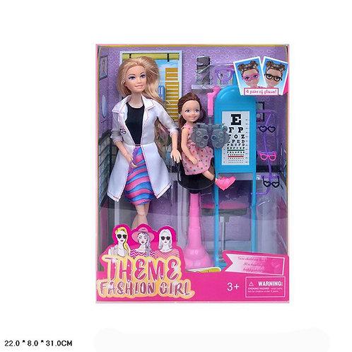 Игрушка детская:2 куклы с набором