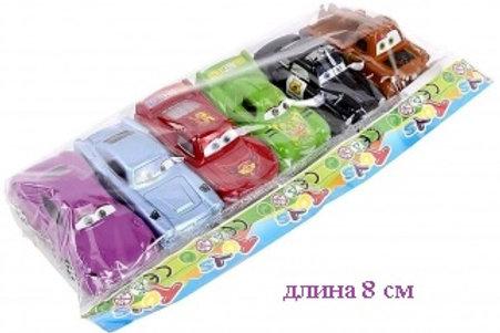 Купить игрушку машина инерц. 6 шт/пакет
