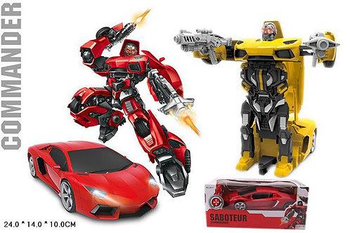 Игрушка детская:Машина-трансформер на р/у 2цв