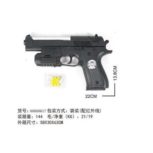 Купить игрушку пистолет пневматика с лазером