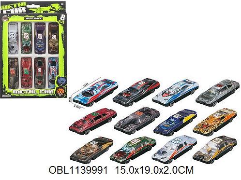Купить игрушку машина металл. 8 шт/коробка