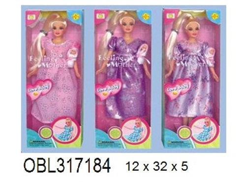 Купить игрушку кукла дефа беременная 3 вида акция скидка 55%