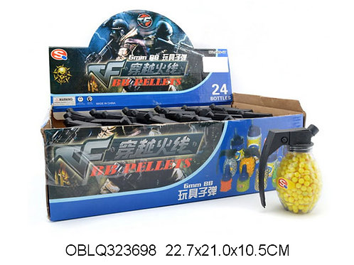 Купить игрушку пули 500 шт/граната 24 шт/коробка 6 цветов