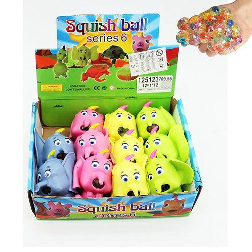 Купить игрушку мяч антистресс 12 шт/коробка