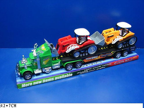 Игрушка детская:Перевозчик с тракторами