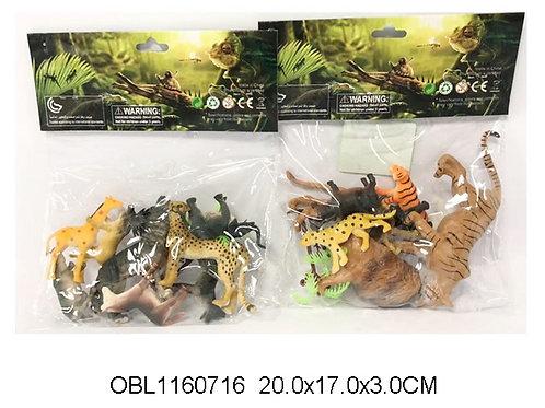Купить игрушку животные дикие набор 2 вида