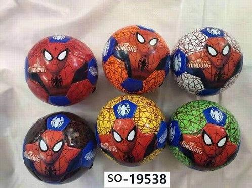 Мяч для мини-футбола Человек-паук в ассортименте
