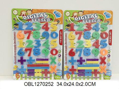 Купить игрушку цифры магнитные 2 цвета