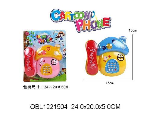 Купить игрушку телефон на батарейках 2 цвета