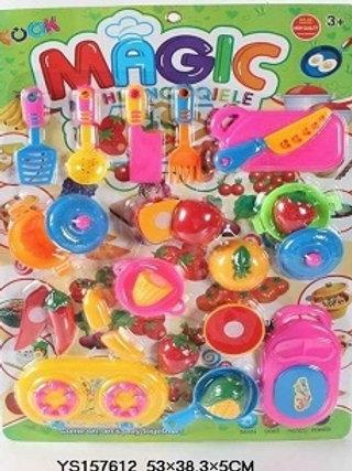 Набор продукты Slice Magic с разделочной доской на картоне 53х38х5см