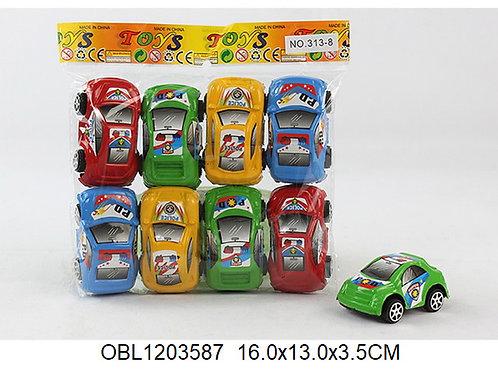 Купить игрушку машина инерц. 8 шт/пакет
