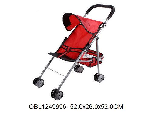 Купить игрушку коляска трость металл.