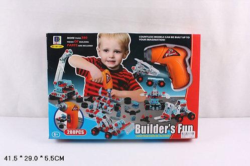 Игрушка детская:Конструктор для малышей  280pcs
