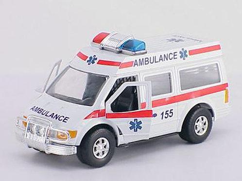 Игрушка детская:Машина скорая помощь инерц.