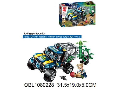Купить игрушку конструктор брик полиция 261 дет.