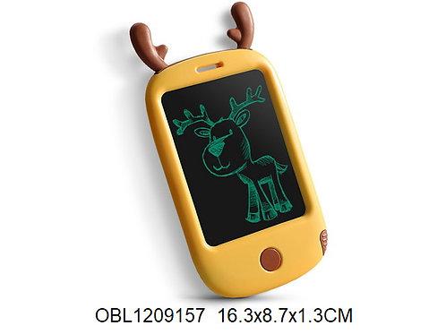Купить игрушку смартфон на батарейках для рисования лось