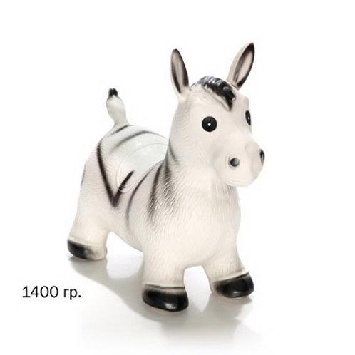 Купить игрушку ослик серый надувной