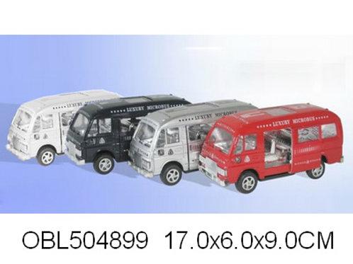 Купить игрушку автобус инерц. 4 цвета