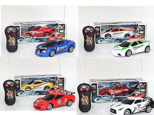 Автомобили на р/у гоночные 6 видов в коробке 24х11х10см