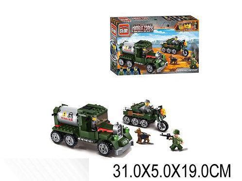 Игрушка детская:Конструктор военная машина (разобранный) 223 pcs