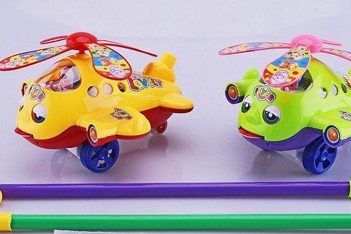 """Каталка """"Вертолет"""" 2 вида  для малышей"""