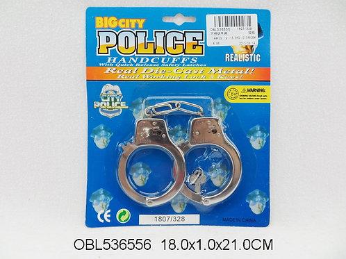 Купить игрушку наручники металл.
