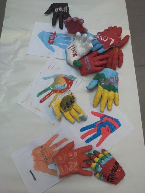 hands, values, togetherness