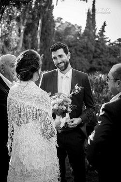 Le regard du marié