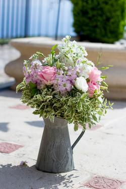 Un jolie composition florale