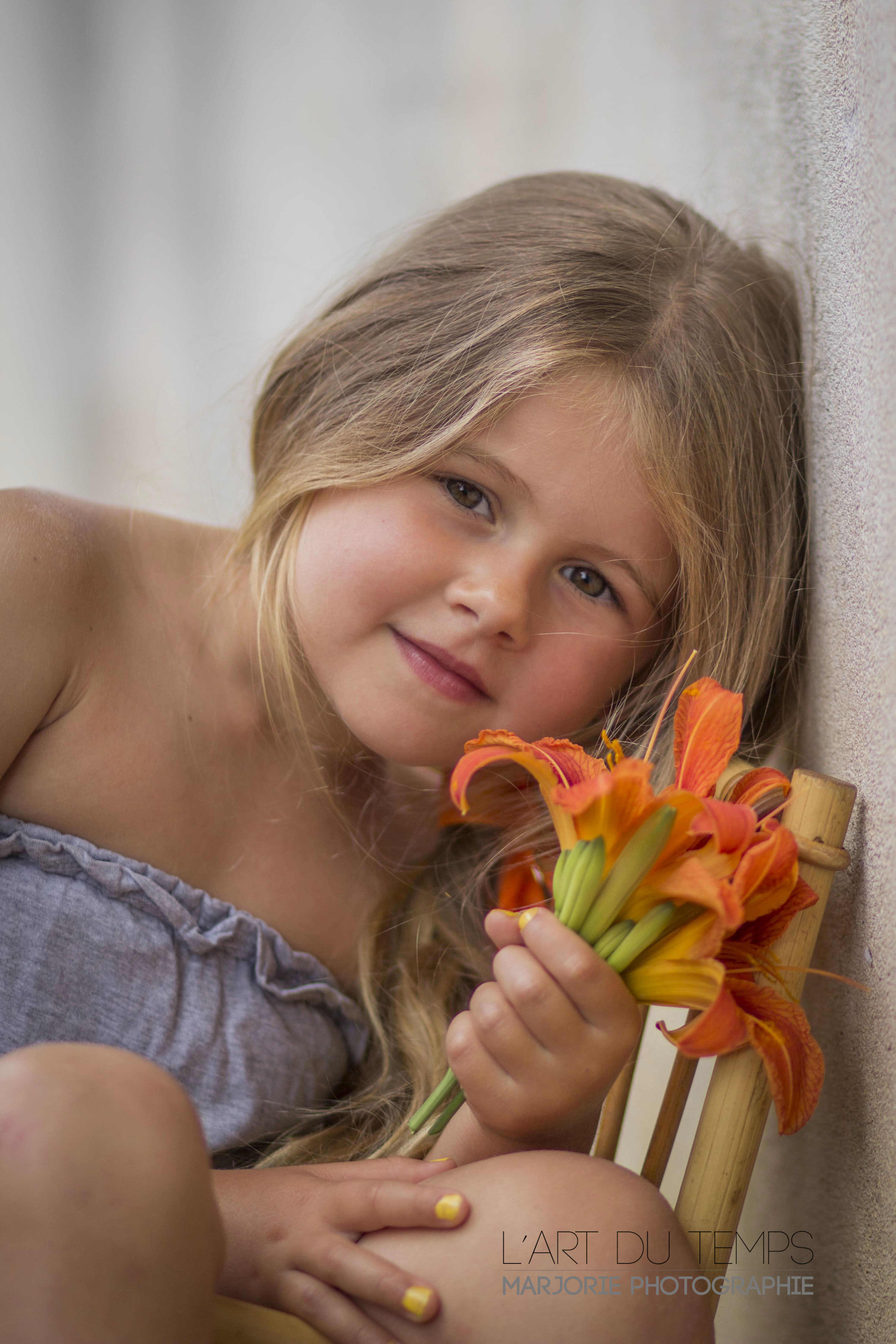 Portrait d'enfant dans le 06 et 83
