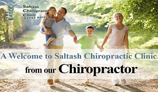 A Welcome to Saltash Chiropractic Clinic from our Chiropractor