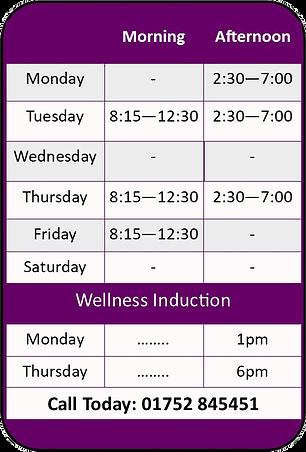 Saltash-Chiropractic-Clinic-Opening-Hours