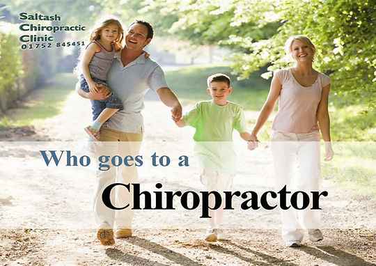 the type of people of all ages who visit chiropractors