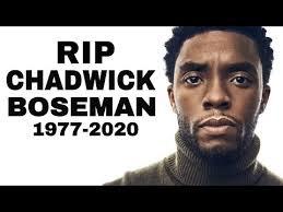 R.I.P. Chadwick Boseman: Afrofuturist Icon