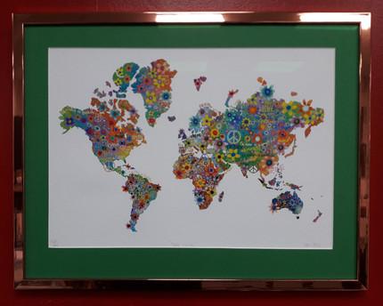 World peace map