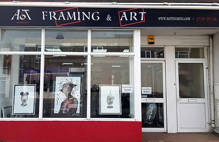 AOT Framing and Art  -  Professional framer in Worthing