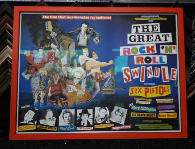 The great rock 'n roll swindle poster