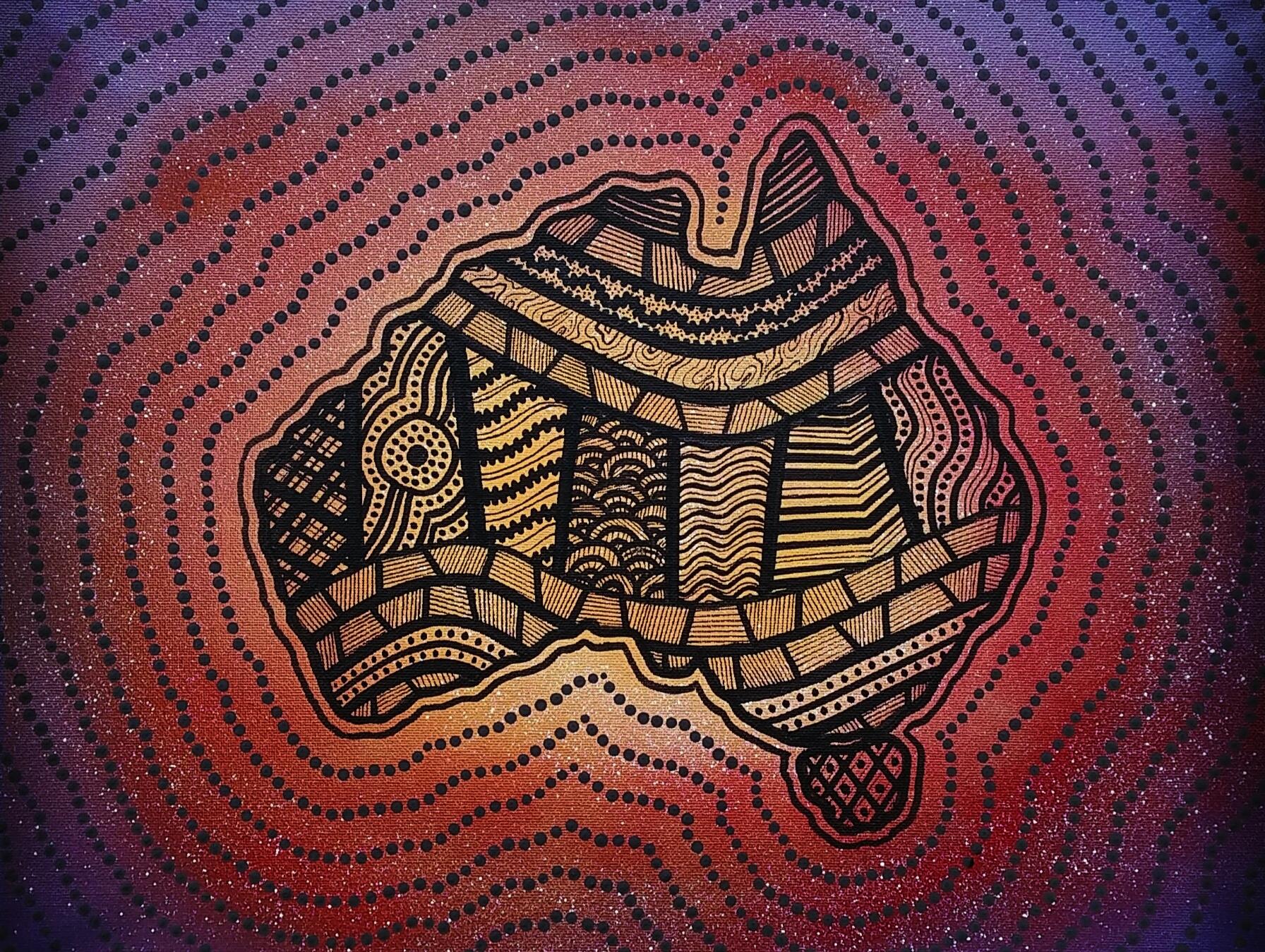 Australian Heatwave Canvas